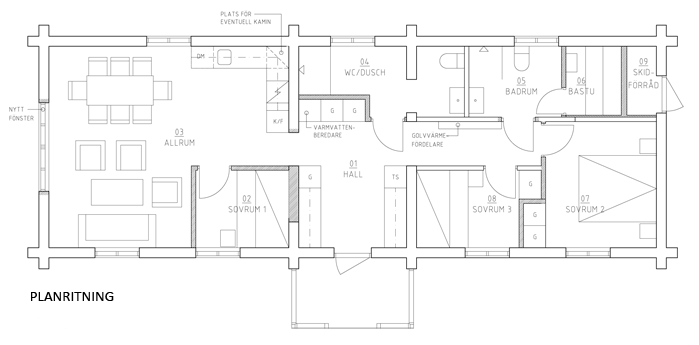 Planlösning Annas Hus